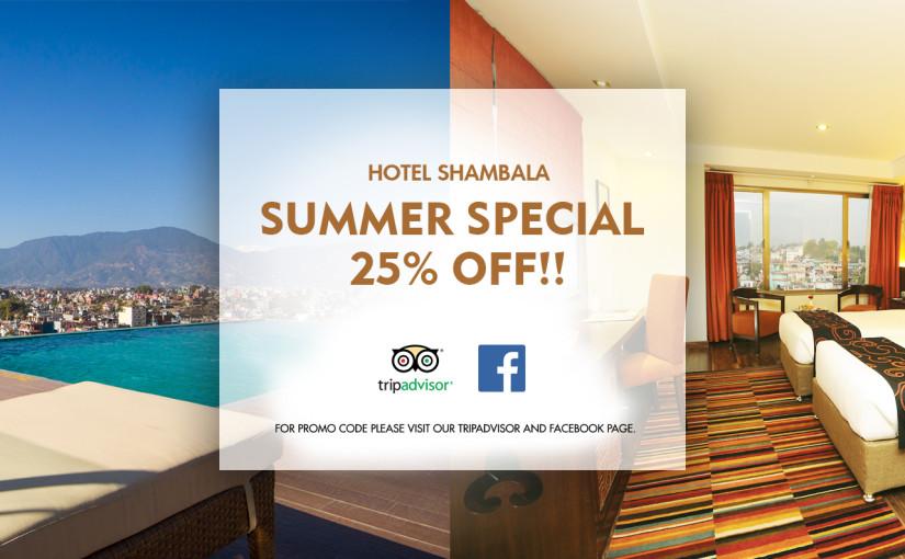 Summer Special 25% OFF!!