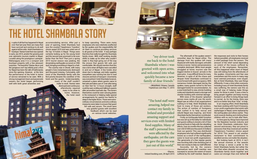 The Hotel Shambala Story
