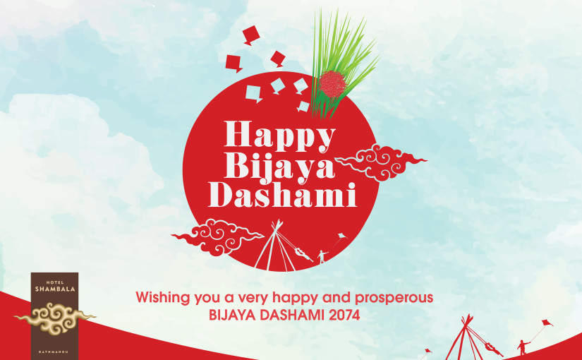 Bijaya Dashami – The biggest cultural and religious festival of Nepal.