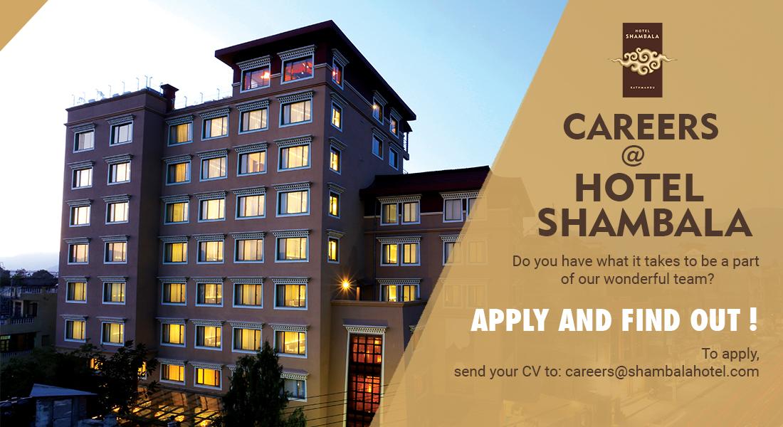 Careers at Hotel Shambala